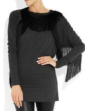 Top tunique sweater Isabel Marant MIDI Fringe taille L Neuf