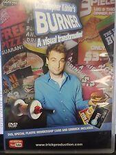 BURNER GIMMICKS & DVD CHRISTOPHER KOHLER MAGIC TRICK WITH CREDIT CARSS