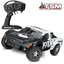 Traxxas Slash 4x4 VXL Brushless FOX BODY RTR Short Course RC Truck w/TSM 68086-4