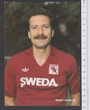 TORINO TORO CALCIO  CARTOLINA FIGURINA CARTONCINO 1984-85  ZACCARELLI
