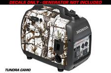 Decal Wrap For Honda EU2000i Skin Camping Generator Engine Sticker TUNDRA CAMO