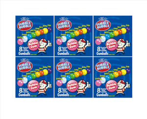 "6 Inside Mount vendstar VENDING candy gumball labels Sticker 2.5 x 2.5"" Gumballs"