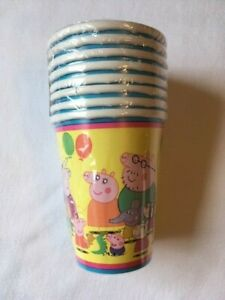Peppa Pig Party Supplies Tableware Items