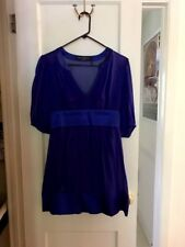 Guess By Marciano Layered Blue Dress
