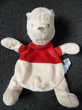 SAINSBURYS  TU Disney Winnie the Pooh Comfort Blanket Comforter Blankie Soft Toy