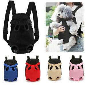 Pet Dog Carrier Puppy Mesh Breathable Backpack Travel Front Travel Shoulder Bag