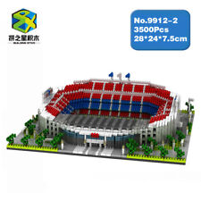 Barcelona Football Club Camp Nou Stadium Diamond Mini Building Nano Blocks Toy