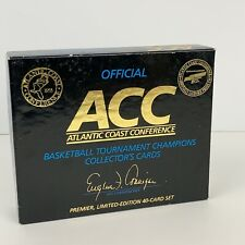 1992 ACC Tournament Basketball Champions Team Card Set, 40 Cards - Unopened