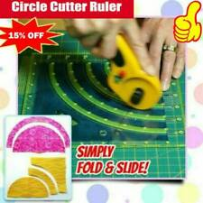 Arcs & Fans Quilt Circle Cutter Ruler-Original FAST SHIPPING NEW