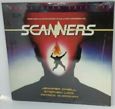 SCANNERS(1981)LASERDISC Widescreen Edition Music Isolated on Analog Track IMAGE