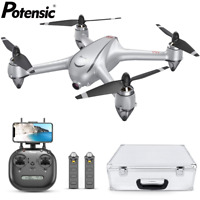 Potensic D80 Drone 2K HD Camera GPS FPV Brushless Quadcopter Drones With Case