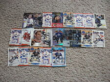 LOT OF 35  CURTIS JOSEPH CARDS