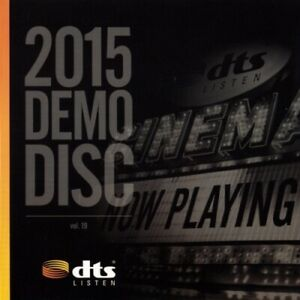 2015 CES DTS X, HD-MA Master Audio 7.1 Demo #19 Genuine Blu Ray Disc. New/Sealed