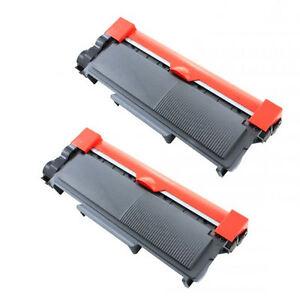 2PK TN660 Toner Cartridge For Brother TN630 HL-L2320D L2340DW L2360DW L2380DW