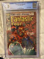 Fantastic Four Annual #6 (1968) CGC 7.0 1st Annihilus & Franklin Richards