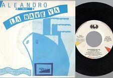 ALEANDRO BALDI disco 45 giri MADE in ITALY La nave va SANREMO 1986