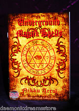 UNDERGROUND MAGICK SPELLS. Starlight Books. Nikku Arrol. Occult Grimoire.Wealth