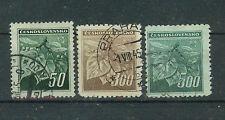 ČSSR Briefmarken 1945 Prager Ausgabe Mi. 426 bis 432