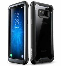 Samsung S8 Case Dual Layer with Screen Protector Military Tough Cover Anti Smash