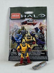 Mega Construx HALO Infinite 2 Yellow Spartan Anubis Active Blind Bag **LOOSE**