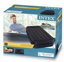 Intex único tamaño criado aire inflable colchón de la Cama Colchón de Aire Bomba eléctrica