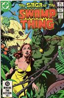 Saga Of The Swamp Thing 8 DC 1982 VF Tom Yeates Phantom Stranger
