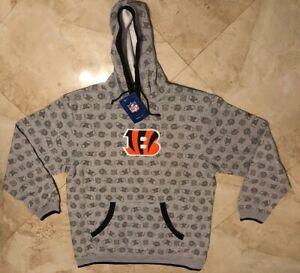Cincinnati Bengals Hoodie XL Loud And Proud Hooded Sweatshirt Embroidered NFL
