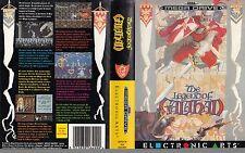 The Legend of Galahad Sega Mega Drive PAL remplacement Box Art Case Insert Cover