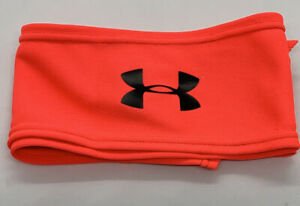 Hot Pink/orange Under Armour Unisex Tie Headband NIP*