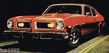 1974 Pontiac Brochure:FIREBIRD TRANS-AM,GTO,LeMans,GRAND PRIX,CATALINA,VENTURA,