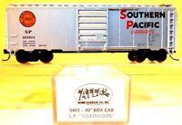 "N Atlas 3442 40' Box Car Southern Pacific ""Overnights"" #163824 LNIB"