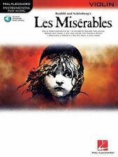 Les Miserables Selections For Violin BK/online audioHal Leonard Instrumental Pl