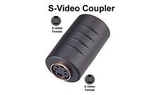 Premium S-Video Female To Female Cable Coupler