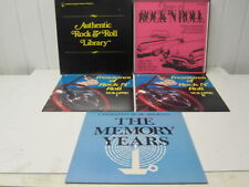 AUTHENTIC ROCK & ROLL LIBRARY - 3  LP BOXSET - CANDLELITE MUSIC INC.