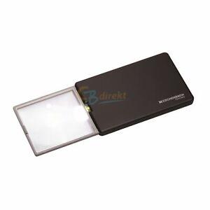 Eschenbach Taschenleuchtlupe Easy Pocket 3fach 8,0 Dpt LED Magnifying Glass