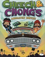 CHEECH AND CHONG Hand Signed 11x14 Photo IN PERSON Autograph JSA COA Cert