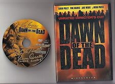 "DAWN OF THE DEAD SIGNED DVD 3X AUTOS ""ZOMBIES"" HILL CECCUTTI  RORIE GOLD PEN"