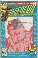 Daredevil #167 : Vintage Marvel comic book from November 1980