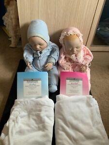 2 x  Collectable Ashton-Drake Nursery New Born dolls