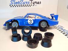 8 pneus AR uréthane pour Carrera Servo 140