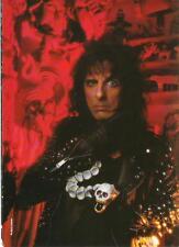"ALICE COOPER skull snake magazine PHOTO / Pin Up / Poster 11x8"""