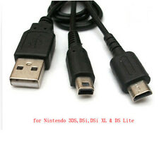 USB Power Charging Charger Cable Cord Adapter FOR Nintendo 3DS,DSi XL DS Lite