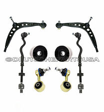 Solid Bushings Control Arms Sway BAr Tie Rod Kit for BMW E36 325i 323i 328i 8 pc
