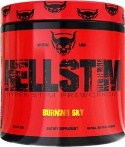 Spitfire Labs: Hellstim Hyper Stim Preworkout Unicorn gutz flavour Free Postage