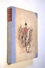 VALLET. A TRAVERS L'EUROPE. CROQUIS DE CAVALERIE. 1893. 50 PLANCHES EN COULEURS