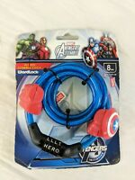 E25 CAPTAIN AMERICA Cable Combination Bicycle Lock