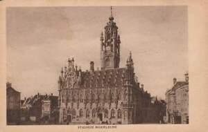 Ansichtkaart Nederland : Middelburg - Stadhuis (boxa0023)