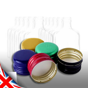 Colour Metal Screw Caps For Glass Bottle 28mm-Very Good Seal MIX and Pick UK