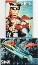Stingray - Fridge Magnets - New and Sealed - 2 Different - Ideal Present