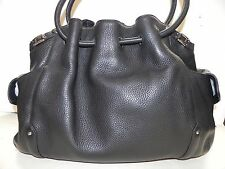 Cole Haan~Village Black Leather Large Tote Handbag~LN